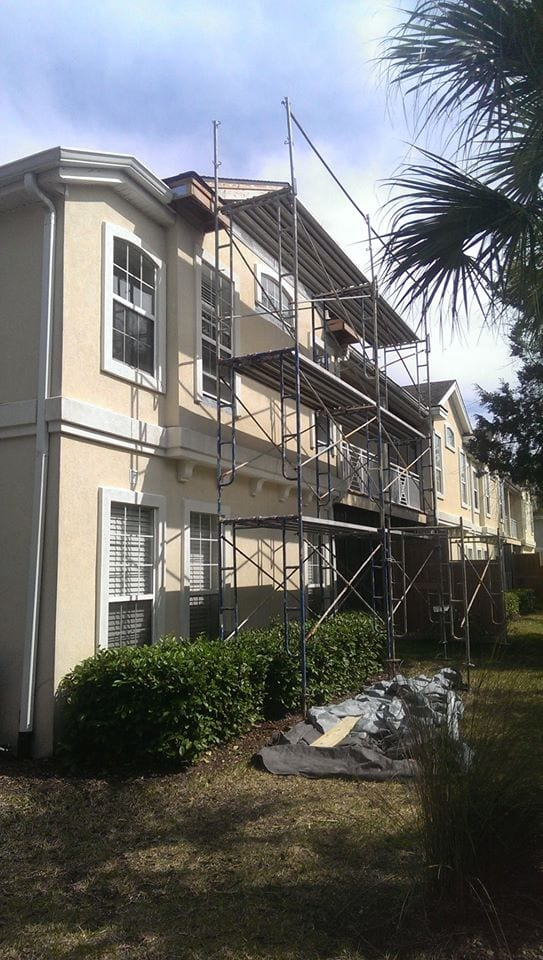 Condo In St Augustine Beach Waterproofing Stucco